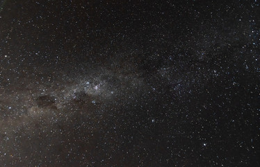 Milky Way in the early evening