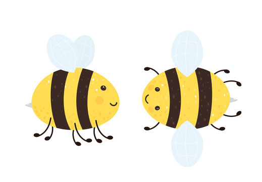 Two Happy Bees