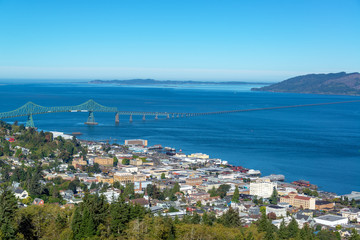 Astoria, Oregon Cityscape
