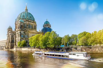 berlin cathedral on a sunny day Wall mural