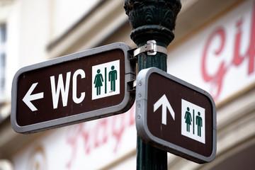 Toilet sign - Unisex