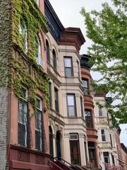Brooklyn street view, New York City, USA.