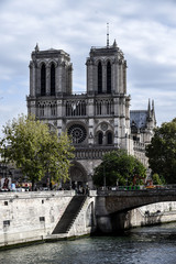 Notre Dame de Paris memorial church