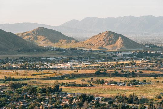 View from Mount Rubidoux in Riverside, California