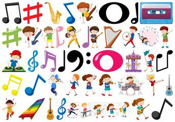 A musical object set