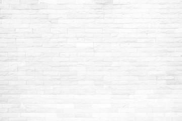 Spoed Foto op Canvas Baksteen muur White Brick Wall Background.