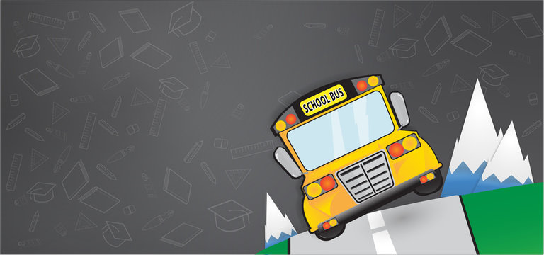 The back to school vector image for education content.