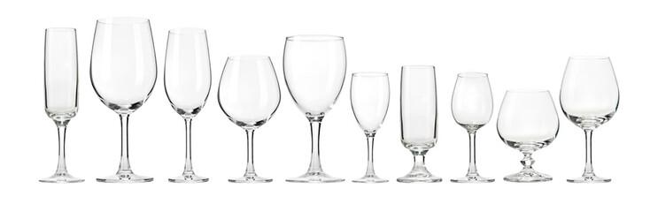 Papiers peints Alcool Empty wine glasses