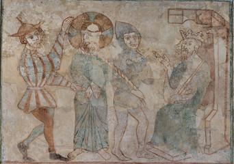 Jesus at Herod's court