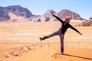 Deserto del Wadi Rum, Giordania