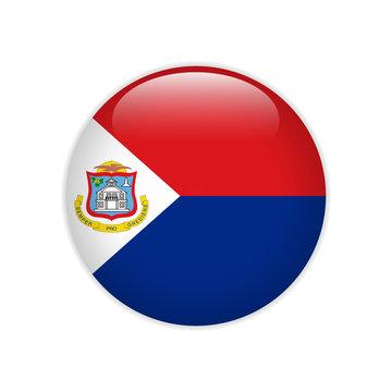 Flag of Sint Maarten button
