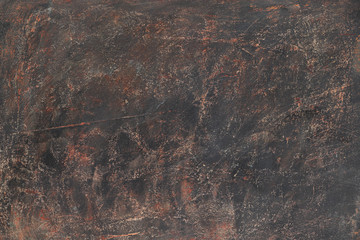 Dark brown textured background. High resolution image with copy space
