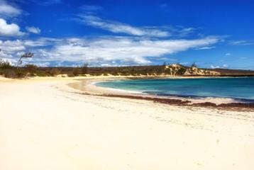 Fototapeta Exotic beach in Madagascar