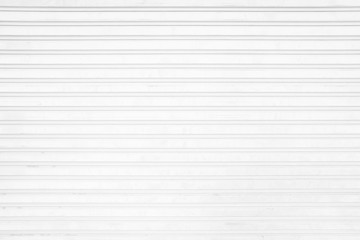 White Grunge Folding Metal Door Background.