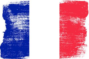 Obraz Malowana flaga - fototapety do salonu