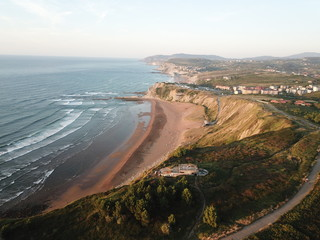Stunning views coast of basque country