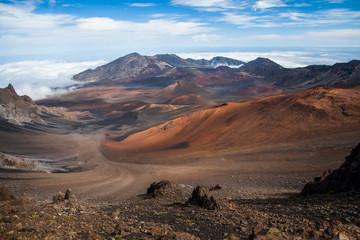 Haleakala National Park, Haleakala Crater; Maui, Hawaii, United States Of America