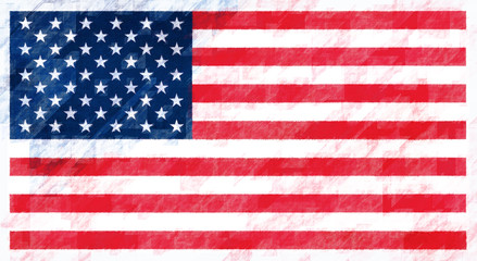 The United States of America Flag.