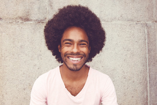 Portrait of an african american hipster man
