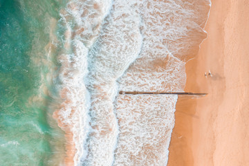 Australian aerial beach scape scene views