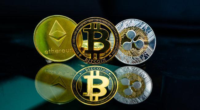 Ripple (XRP) ,Bitcoin , Ethereum (ETH)