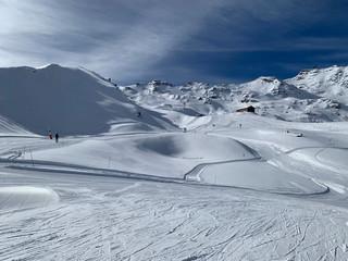 Poste de ski peu fréquentée 2
