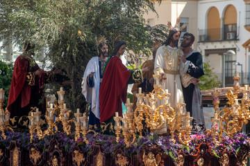 Wall Mural - Hermandad del beso de Judas, semana santa de Sevilla