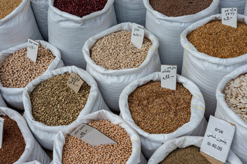 Assorted Legumes in sack for sale