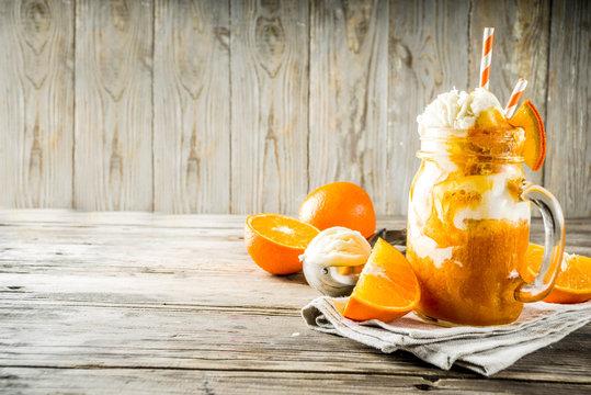 Orange Soda Creamsicle cocktail