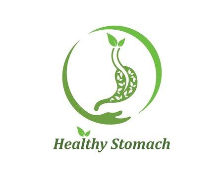 stomach vector illustration design