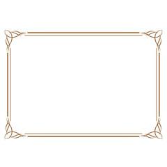 周年イベントやお祝い事などで使いやすいゴージャスでアンティーク調のフレームデザイン