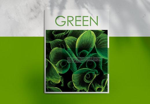 Green Magazine Layout