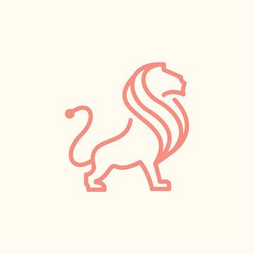 Premium Lion Logo - Vector logo template