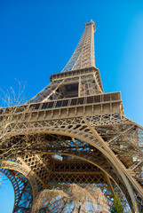 The Eiffel Tower in Paris, France