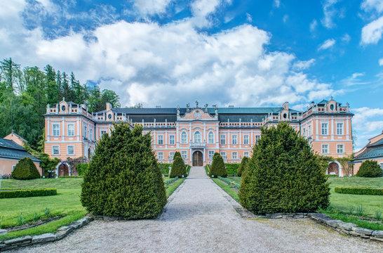 Chateau, Prague, Central Bohemia, Czech Republic