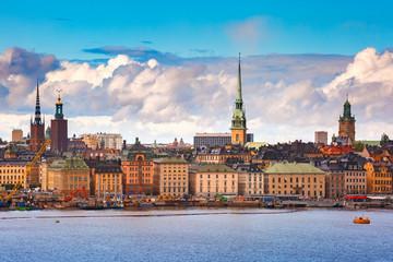 Türaufkleber Stockholm Gamla Stan in Stockholm, Sweden