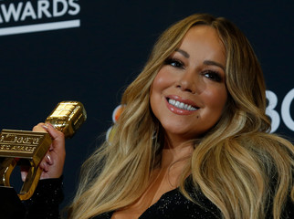 2019 Billboard Music Awards– Photo Room – Las Vegas, Nevada, U.S., May 1, 2019 – Mariah Carey poses backstage with her Icon Award