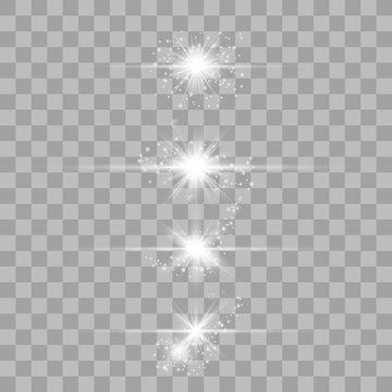 Optical lens flare light