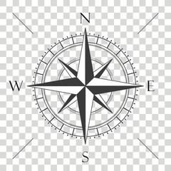 Compass Cardinal Points Transparent
