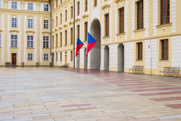 Im Burgviertel in Prag/Tschechien