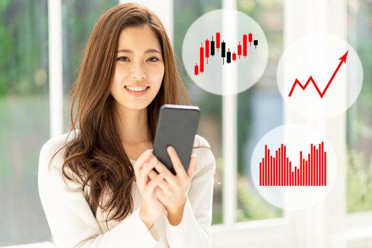 スマートフォン 投資