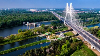 Obraz most rędziński - fototapety do salonu