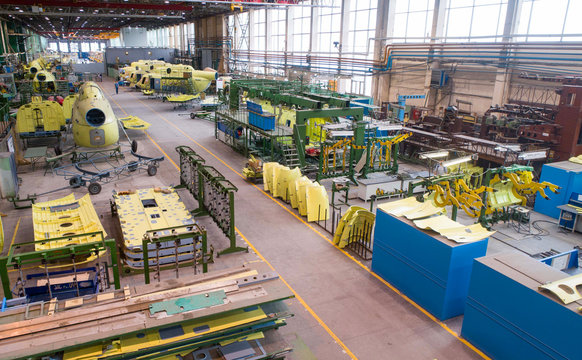 Helicopter aviation plant making process