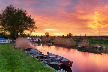 Boats at West Somerton