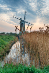 Wall Mural - St Benet's Level Drainage Mill in Norfolk
