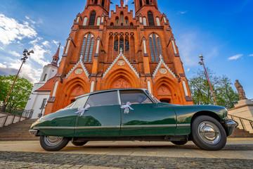 Obraz Zabytkowy kościół Farny w Białymstoku - fototapety do salonu