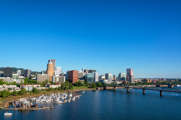 Beautiful Portland, Oregon Cityscape