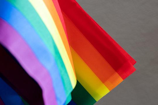 lgbtq lesbian gay bi trans queer rainbow flags
