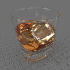 Glass of whiskey 1