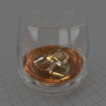 Glass of whiskey 2
